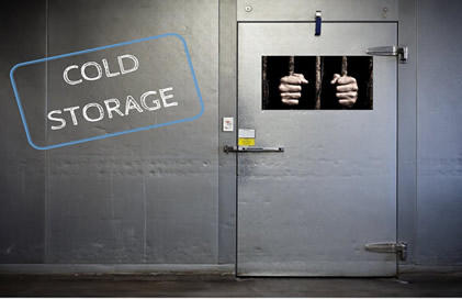 Cold Storage Escape Room Logo