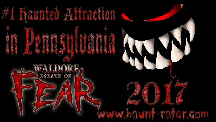 Voted #1 in Pennsylvania by Haunt Rater