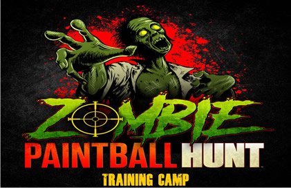 Zombie Paintball Hunt Logo
